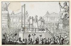 Marie-Antoinette sur l'échafaud Anonyme