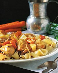 Chicken Stew with Cider and Parsnips Recipe on Food & Wine