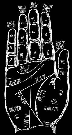 Does Your Palm Reveal About Your Personality? Im a passionate person seeking freedom in my evey day life.Im a passionate person seeking freedom in my evey day life. Baby Witch, Witch Aesthetic, Book Of Shadows, Crystals, Passionate Person, Numerology Chart, Numerology Numbers, Black White, Black Art