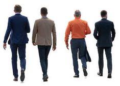 four businessmen walking People Walking Png, People Png, People Cutout, Cut Out People, Walking Poses, People Poses, Drawing Reference Poses, Entourage, Vignettes