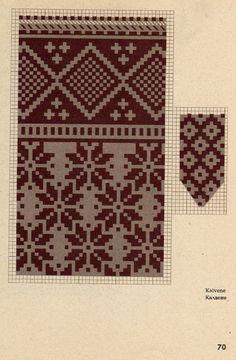 Knitted Mittens Pattern, Knit Mittens, Knitting Socks, Tapestry Crochet, Tapestry Weaving, Knitting Designs, Knitting Projects, Knitting Charts, Knitting Patterns