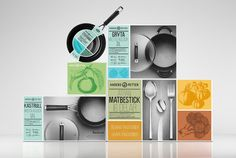 This design solution looks like 50 concepts I've done (but weren't selected) for different houseware products. And I love it! Anders Petter / Cervera on Packaging of the World