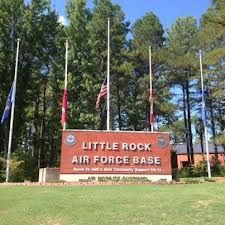 Little Rock AFB - Little Rock, AR - will be heading there for a day in June to see @Elise Rogers, while I am out at my corporate office. :)