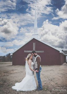 Captured By Cottingham Photography Studio 1411 Marketplace Drive Suite D Jonesboro Arkansas 72401  870-530-9610 Beautiful Winter Wedding  Feb Wedding  Church Front Prayer In Trumann, Arkansas.
