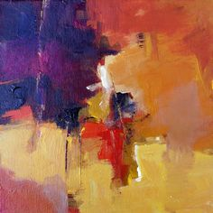 "Elizabeth Chapman: Modern Expressionistic Abstract ""Wit"" by Elizabeth Chapman"