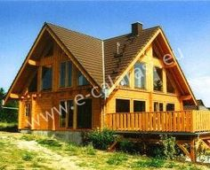 Love modern log homes Cheap Log Cabins, Log Shed, Garden Cabins, Log Homes, Barn Homes, Bar Grill, Lodges, My Dream Home, Gazebo