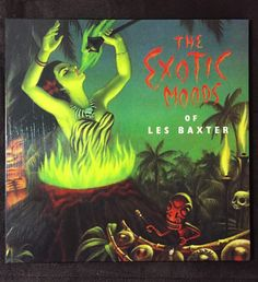 Exotic Moods Les Baxter Exotica Lp Art