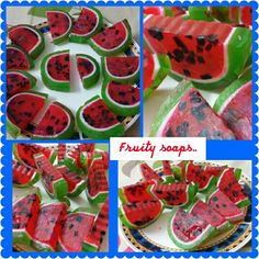My fruity soaps...
