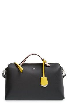 Fendi  Large By the Way  Leather Shoulder Bag available at vintage leather  handbags 5a3e2988710c8