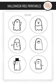 Clear Colours: Halloween Freebies