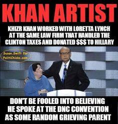 "America's No. 1 ""Khan"" Artist |DEFEAT OBAMA TOONS"