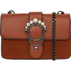 Tan Embellished Buckle Cross Body Bag - Handbags - Accessories - Women - TK Maxx Waiting Rooms, Tk Maxx, Cross Body, Crossbody Bag, Shoulder Bag, Handbags, Stuff To Buy, Accessories, Women