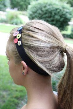 Button Up Headbands...