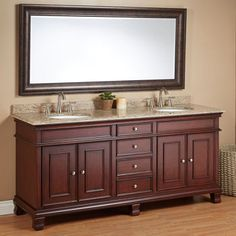 """Costco: Manhattan 72"""" Double Sink Vanity by Mission Hills® for master bath"""