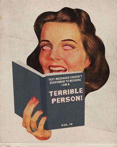 Vintage Humor, Vintage Comics, Vintage Art, Photo Wall Collage, Collage Art, Arte Dope, Retro Illustration, Illustrations, Retro Aesthetic