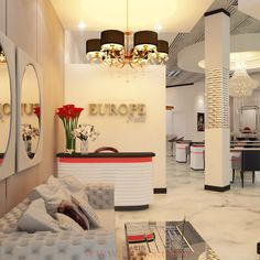 112 Best Top Nail Salon Design Ideas Images On Pinterest In 2018