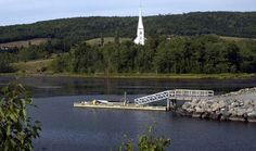 Mabou Waterfront Discover Canada, Enchanted Island, Cape Breton, Nova Scotia, Beautiful Pictures, Scenery, Places To Visit, Cottage, Spaces