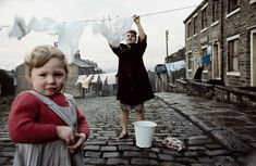 """John Bulmer was a pioneer of British colour photojournalism, and documented the changing face of the North of England in the and Let's take a look at some of his work. Photography Gallery, Vintage Photography, Fine Art Photography, Street Photography, Social Photography, Photography Books, Photographie Leica, Fred Herzog, 1960s Britain"