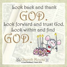 See what God has done for you, know he will help you again, and know hes with you always!