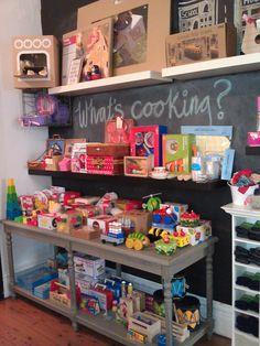 infancy toy display