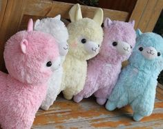 5color Arpakasso Alpacasso Alpaca Big Plush toy doll gift Fresh Soda Ramune 48cm #Amuse