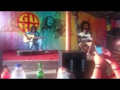 Band Performing Live at Guru Bar Anjuna Beach