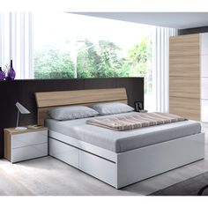 The Dreams Headboard consists of a feature head unit with a wood plank design and natural oak wood finish. The top of the headboard is slanted, providing a comfortable back rest during those bedtime reads or lazy mornings. Suitable for bed sizes 4ft6 Double to 5ft Kingsize* (up to approximately 155cm wide)
