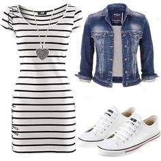 cute outfits for spring ~ cute outfits ; cute outfits for school ; cute outfits with leggings ; cute outfits for winter ; cute outfits for women ; cute outfits for school for highschool ; cute outfits for spring Look Fashion, Fashion Outfits, Womens Fashion, Fashion 2018, Spring Fashion, Fashion Tips, Sneakers Fashion, Fashion Trends, Green Dress Outfit