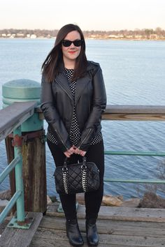 Sequins & Skulls: Polka Dots & Leather