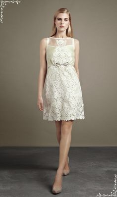 Short Informal Summer Wedding Dress