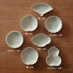 """""""Mamezara"""" is tiny plates. 東屋 豆皿(無地)"""