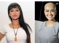 WEBSTA @ bald.girls - #headshaving #headshave #baldwomen #baldhead #baldgirl #bald #cleanhead #cleanshaven #shaved #shininghead #shaving #sexy #before-after