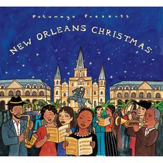 Putumayo's New Orleans Christmas CD.