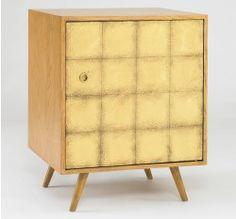Franklin Side Cabinet - Gold Leaf