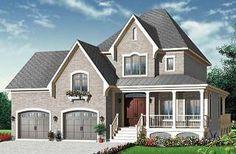 Evelyne 2 3 chambres remarquables, style champêtre, garage double, bureau - W3415-V1