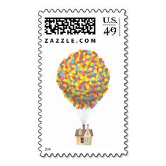 Balloon House from the Disney Pixar UP Movie Postage