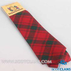 Clan MacQuarrie Tartan Tie