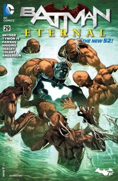 Batman Eternal (2014-) #29 - Hell is bursting out of Arkham Asylum, and the only being that can stop it is The Spectre - but first he must stop himself from razing all of Gotham City!