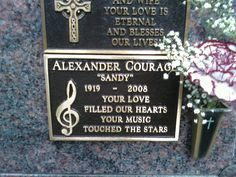"""Alexander """"Sandy"""" Courage - Composer. He is best known for the theme song of the classic 1960s television series """"Star Trek""""."""