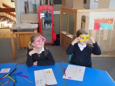 Children showing off their creations at St. Margaret's. #artchangeslives #regeneration #crafting