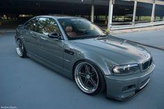 Custom Gray BMW E46 M3