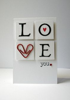 How COOL is that paperclip heart?!! By Amy Wanford of Crafting Confessions blogspot.