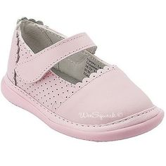 Wee Squeak Baby Toddler Girl Pink Punched Leather Maryjane Shoes 3-12 Wee Squeak, http://www.amazon.com/dp/B003Y4KLR6/ref=cm_sw_r_pi_dp_JvzSqb1D28BR2
