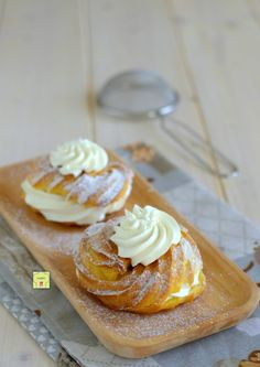 Rotolo al cocco Fancy Desserts, Italian Desserts, Churros, Scones, Paris Brest, Muffins, Cake & Co, Bread Cake, Cooking Chef