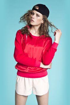 Bluse i silke fra danske POPcph. Bluse - Silke Sweatshirt, Pris: 250,-  http://frejafashion.dk/products/silke-sweatshirt
