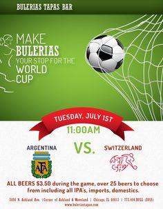 World Cup @ Bulerias Tapas Chicago