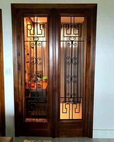 Portas de entrada de madeira: 80 modelos para transformar sua casa