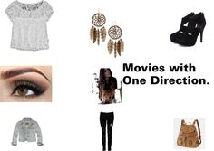 """""""Movies with One Direcrion."""" by abbieagee on Polyvore"""