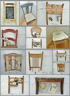 Rustic Furniture When it comes to furniture shopping, few enjoy the quest. Refurbished Furniture, Repurposed Furniture, Rustic Furniture, Painted Furniture, Diy Furniture Renovation, Furniture Projects, Furniture Makeover, Deco Originale, Old Chairs