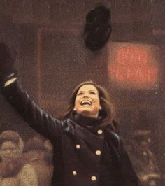 Since I couldn't be Ann Marie from That Girl, I then wanted to be Mary Richards from The Mary Tyler Moore show.